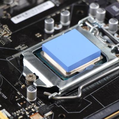 厂家供应导热硅胶片,厚度0.3-20mm,可按照要求裁切冲型。