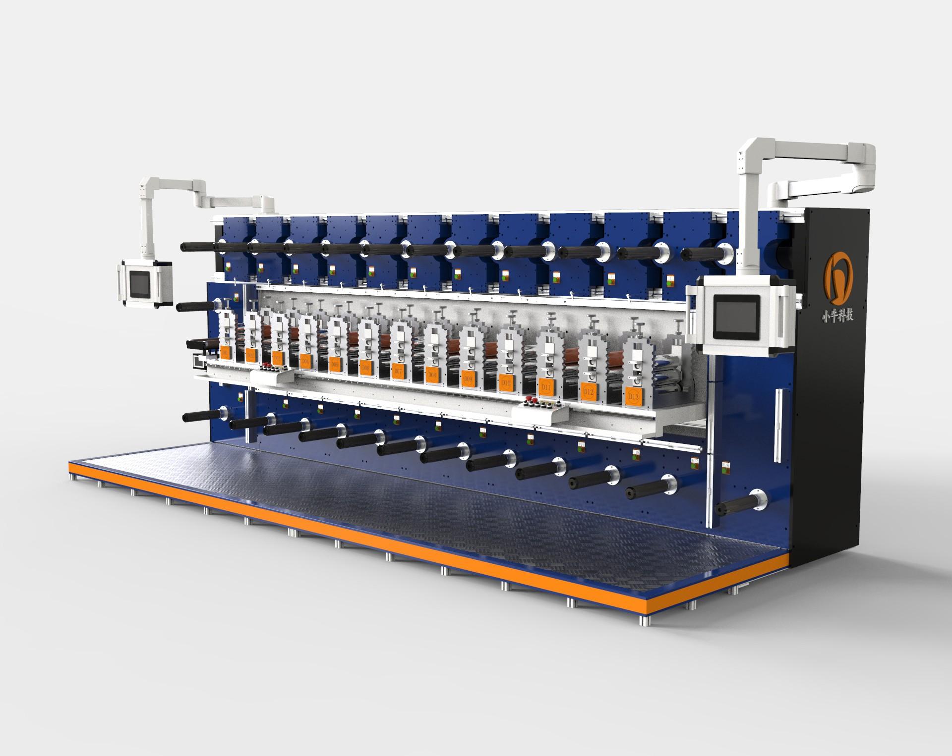 小牛多工位高精度圆刀龙8国际客户端机精准套位圆刀机