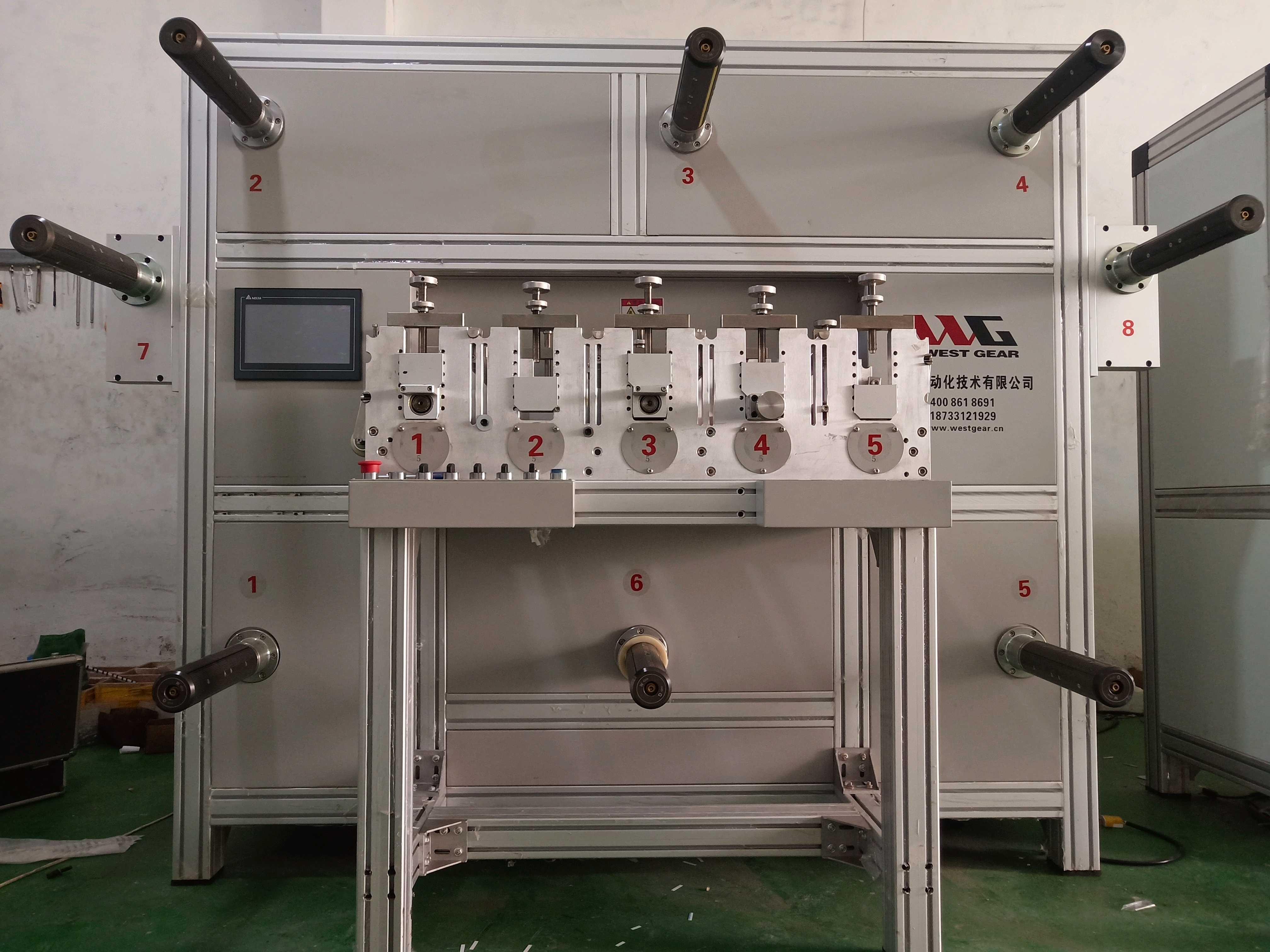 五工位圆刀机