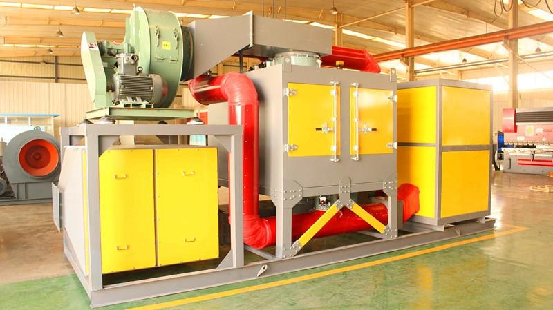 喷漆催化燃烧设备 辽宁催化燃烧设备厂家乐途环保