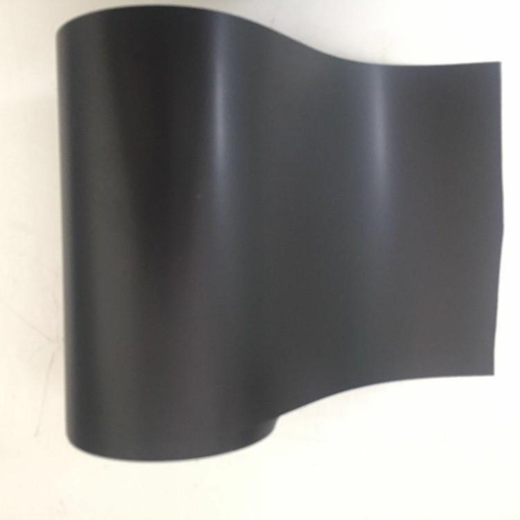 哑黑色PI单面胶带不透光电池包边耐高温双面PI胶带遮光