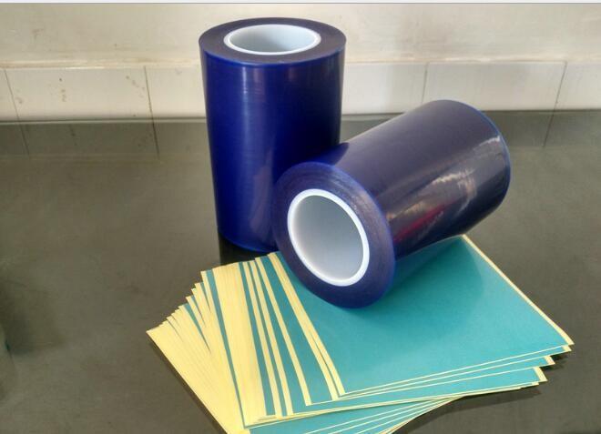 LED蓝膜贴合纸,网格无硅离型纸